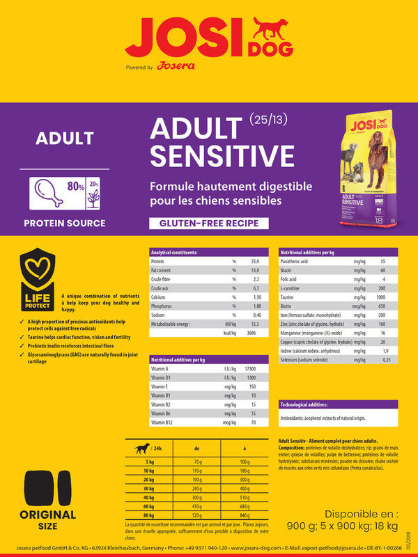 Josera Premium || Sensitive