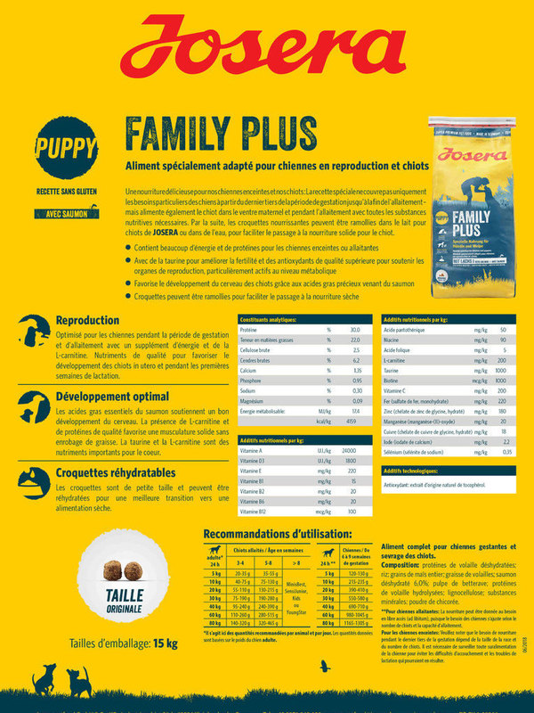 Josera Super Premium || Family Plus