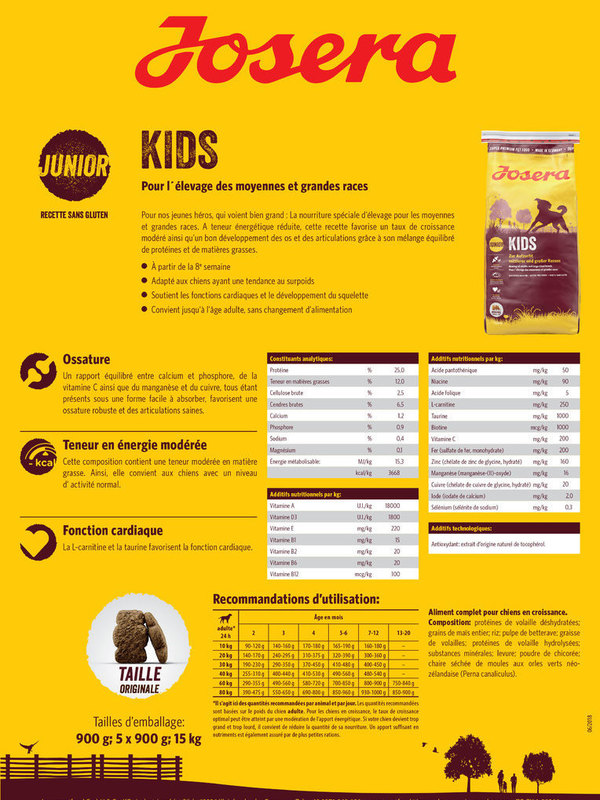 Josera Super Premium    Kids